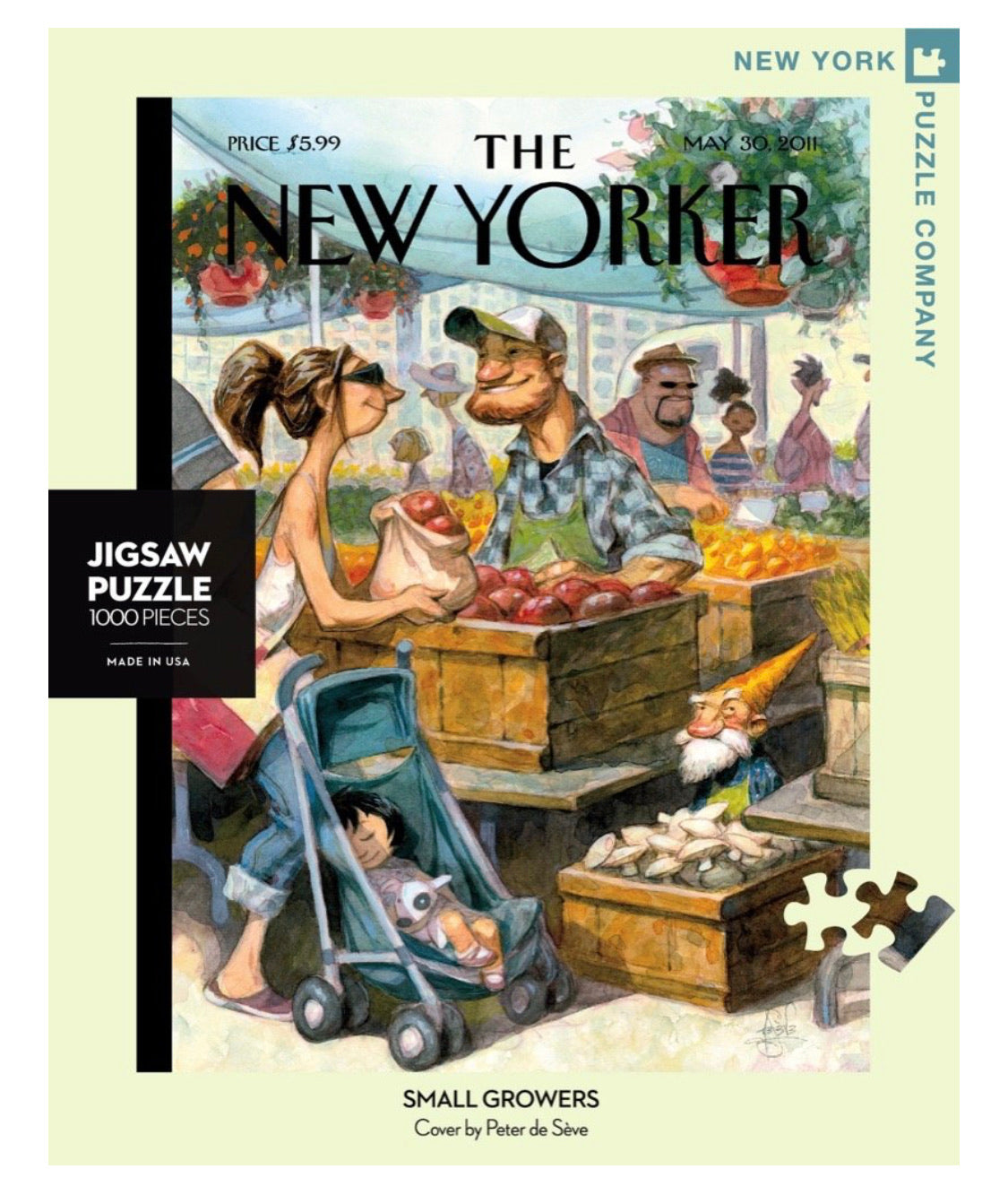 Small Growers Puzzle - The New Yorker 1000pc
