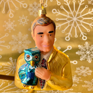 Mr Rogers Holiday Ornament