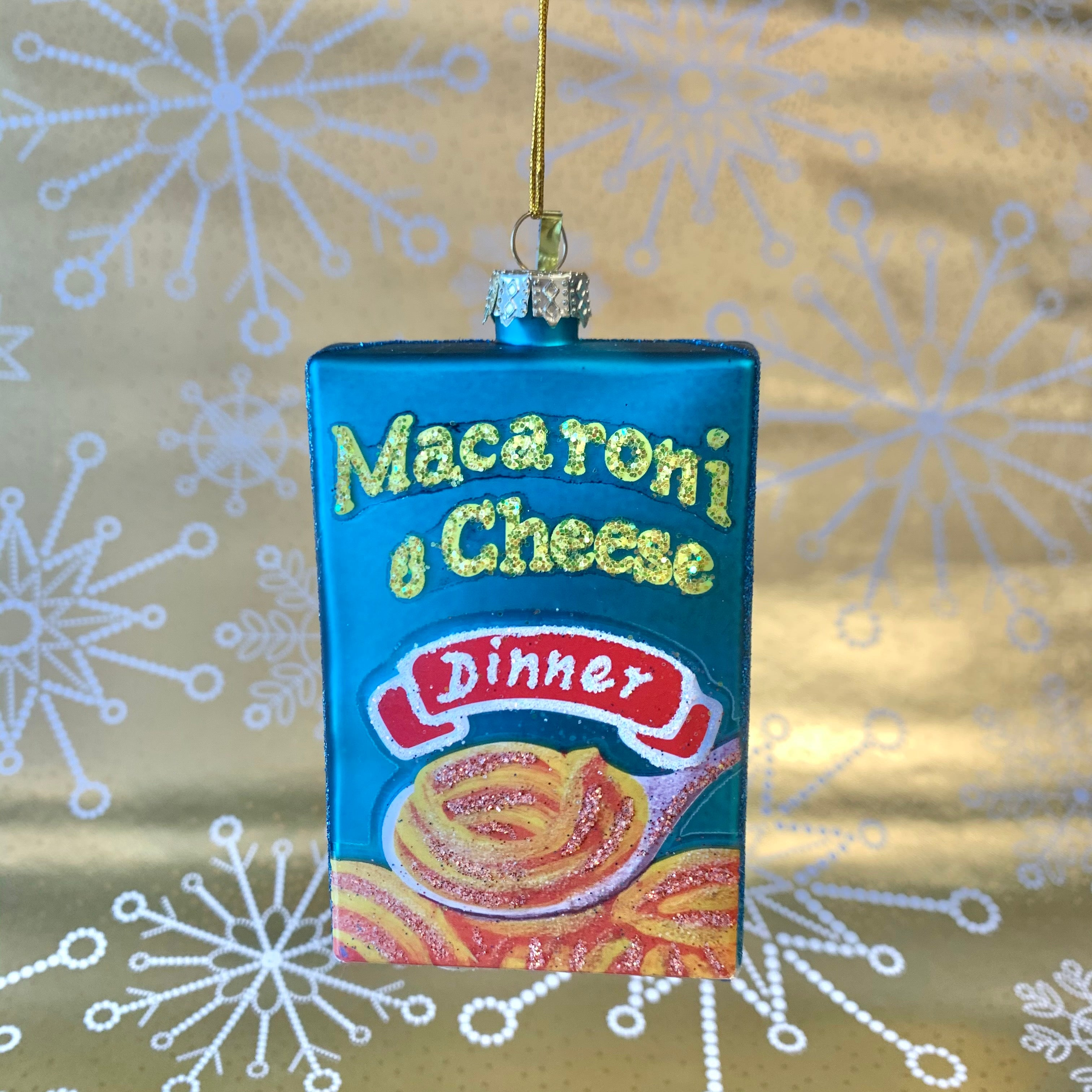 Mac & Cheese Holiday Ornament