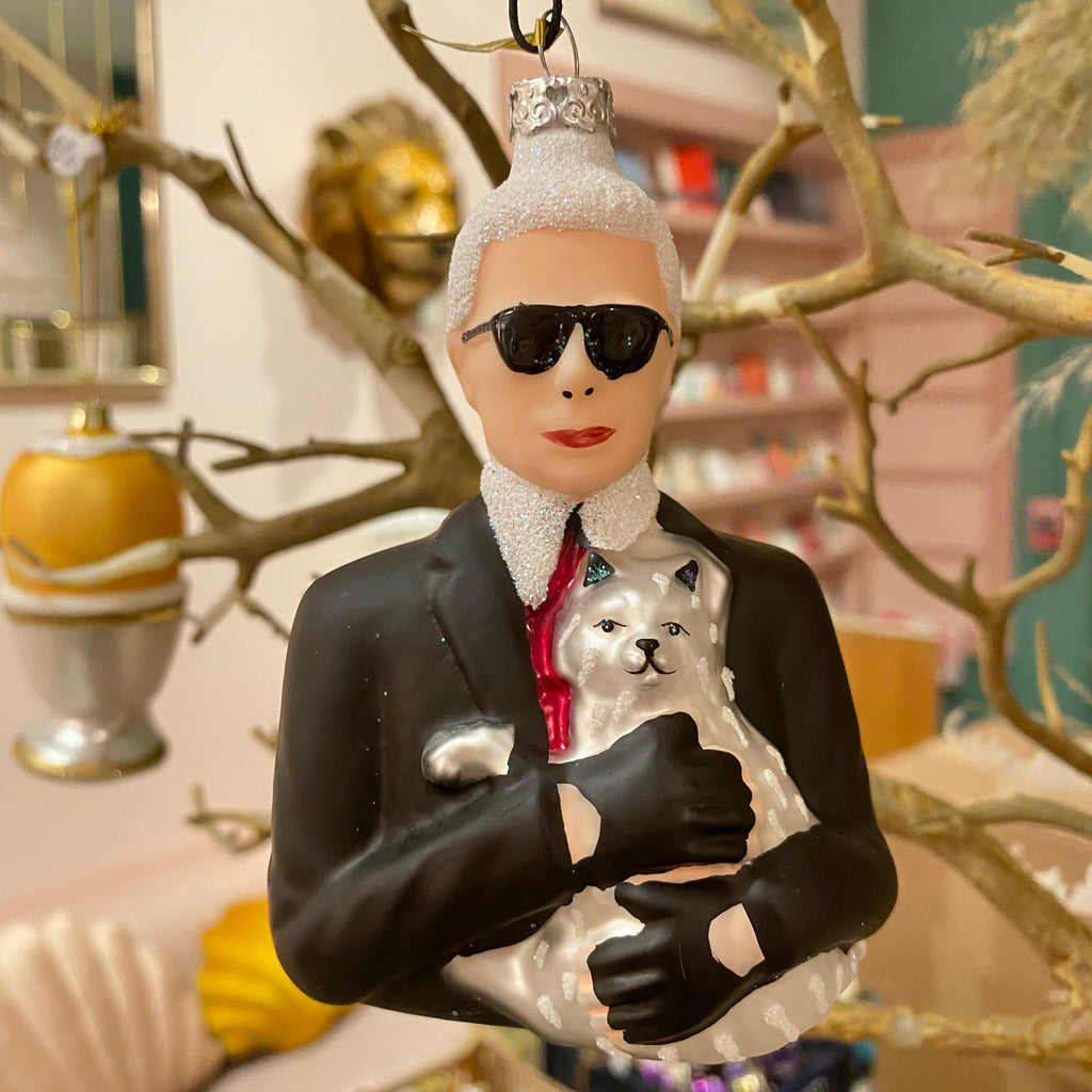 Karl Lagerfeld Holiday Ornament