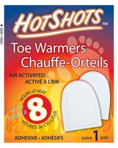 HOT SHOTS toe warmers 8hr