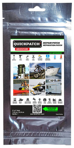 Quickpatch Permanent Repair Kit 3 x 6