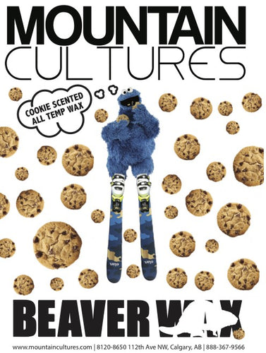 Mountaincultures Cookie Monster All Temp Wax