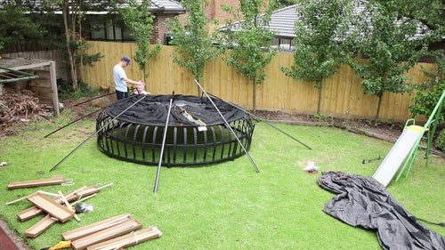 Vuly Thunder Trampoline Delivery & Install
