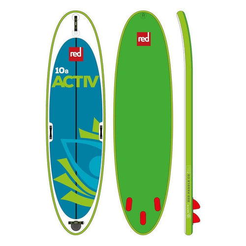Red 10'8 Activ 2019 - Inflatable Paddleboard Package