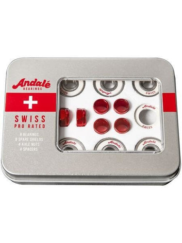 Andale Swiss Bearings Tin Box