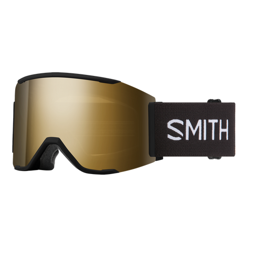 Smith Squad MAG - Black - Black Gold Mirror w/Storm Rose Flash