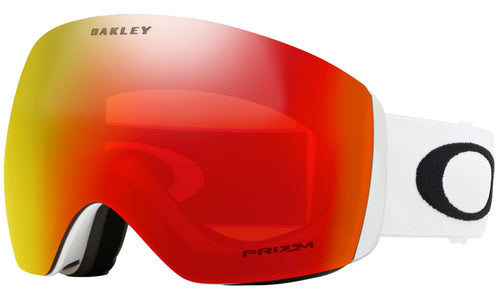 Oakley Flight Deck - Matte White w/Prizm Torch GBL