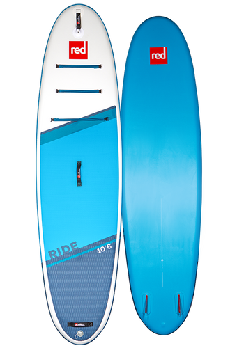 Red 10'6 Ride 2021 - Inflatable Paddleboard Package w/ Alloy paddle