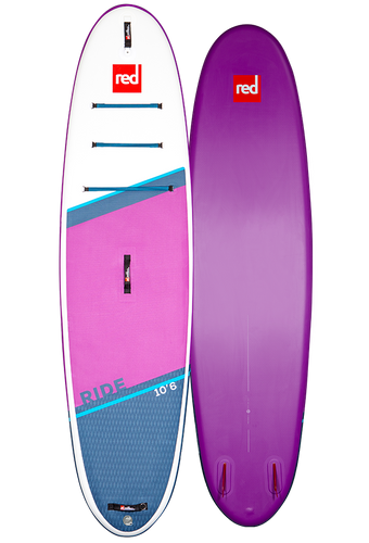 Red 10'6 Ride Special Edition 2021 - Inflatable Paddleboard Package