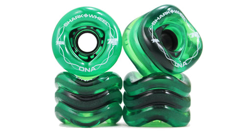 Shark Wheel - 72mm 78a DNA - Trans Green