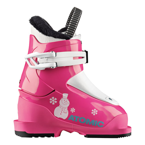 Atomic Hawx Girl 1 Pink/White Ski Boot - Mountain Cultures