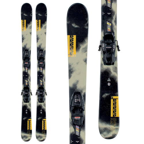 K2 Poacher JR Ski 2021 Flat Mount)