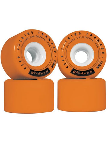Dusters - Gliders 70Mm Wheels Orange