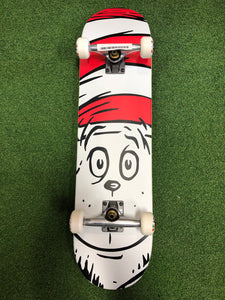 Almost - Big Face Premium Complete Skateboard White - 8.0
