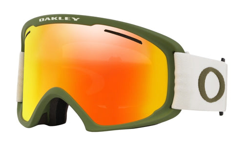 Oakley O-Frame Pro XL - Dark Brush Grey w/Fire & Persimmon GBL