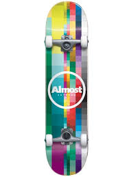 Almost Rasterized FP Complete Skateboard 8.25