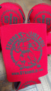 Strong Like Bull Original Logo Koozies