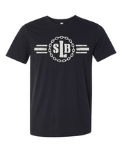 Load image into Gallery viewer, SLB Logo Double-Sided Short-Sleeve Unisex Black Tee