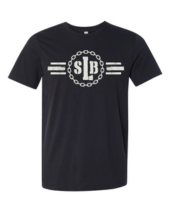 SLB Logo Double-Sided Short-Sleeve Unisex Black Tee