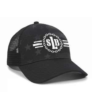SLB Stars and Stripes Mesh Back Hat