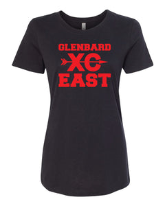 Ladies Short Sleeve Cross Country T-Shirt