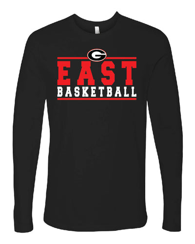 Long Sleeve Basketball T-Shirt