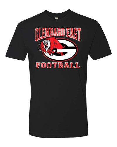 Short Sleeve Football T-Shirt