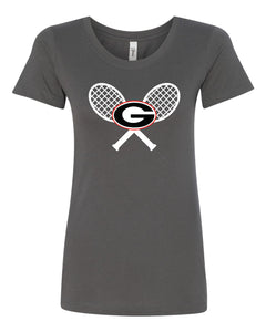 Ladies Short Sleeve Tennis T-Shirt