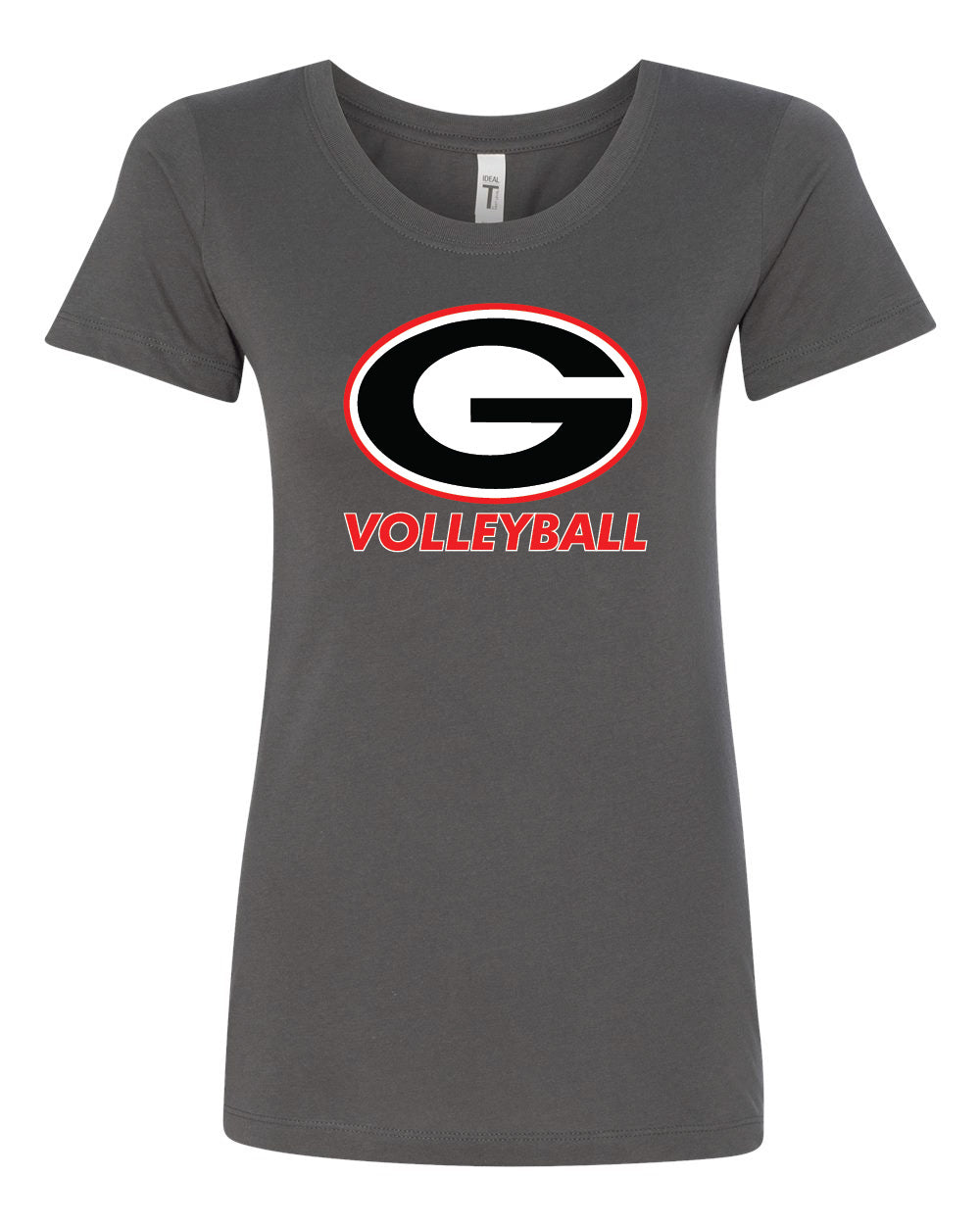 Ladies Short Sleeve Volleyball T-Shirt