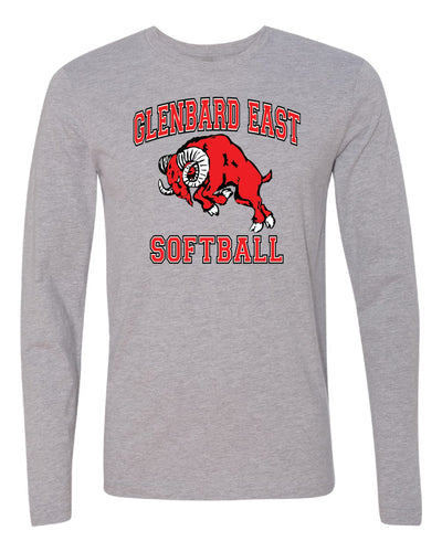 Softball Long Sleeve T-Shirt