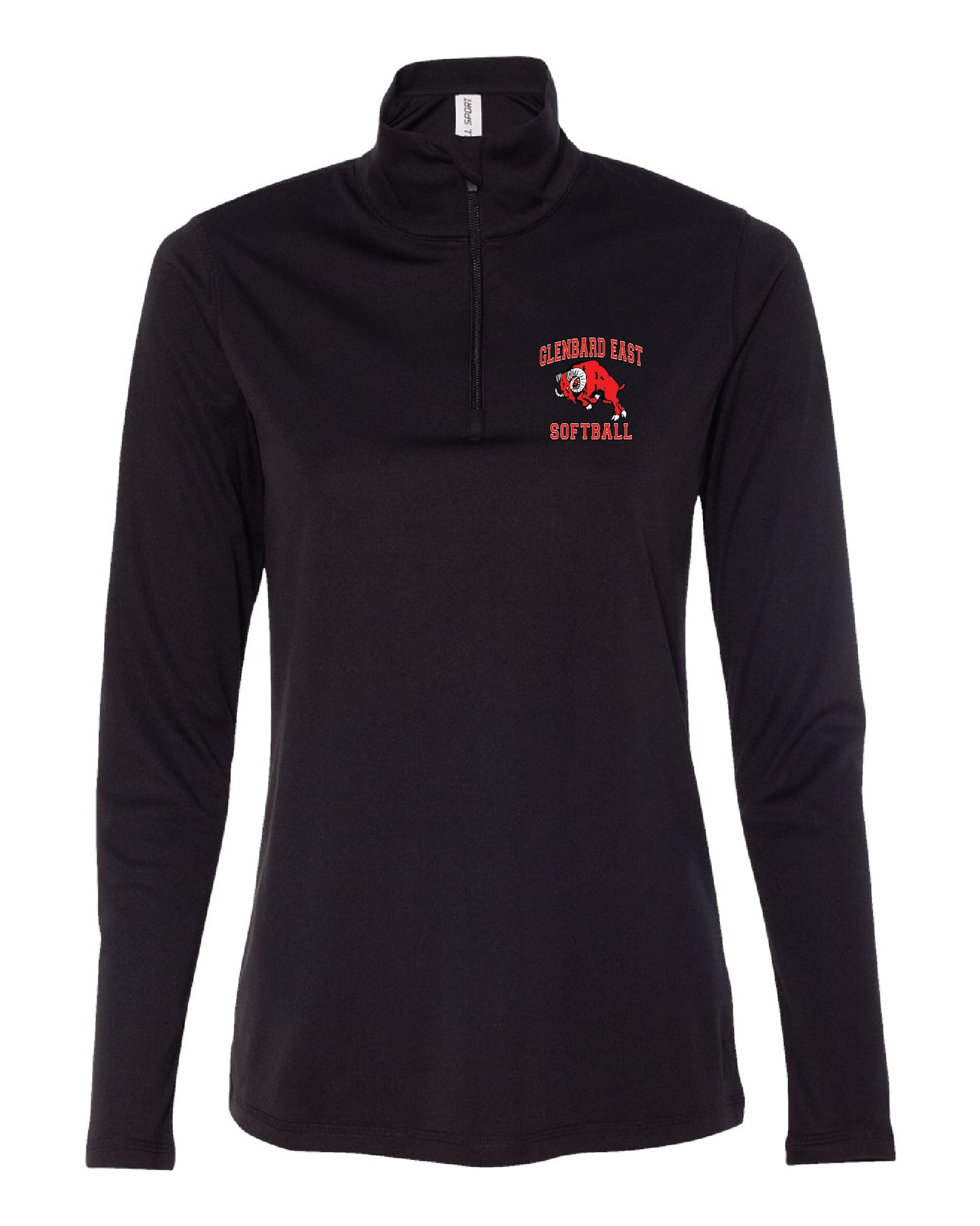 Softball Ladies Quarter Zip