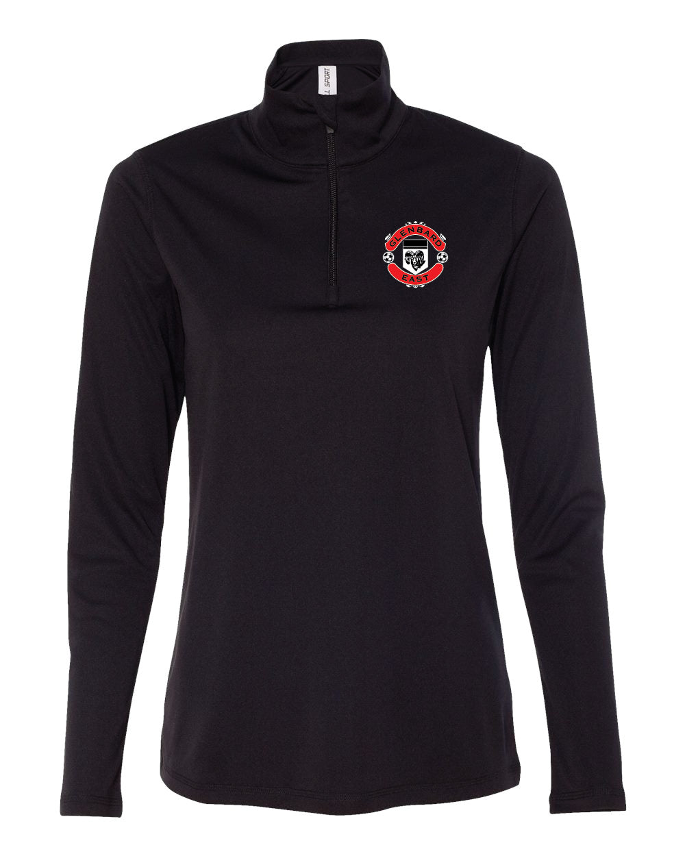 Girls Soccer Quarter Zip Pull over