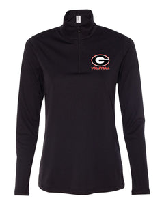 Ladies Volleyball Quarter Zip Pull Over