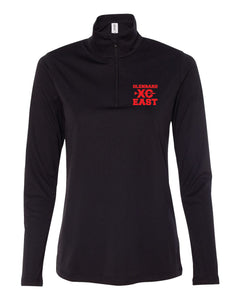 Ladies Cross Country Quarter Zip Pull Over