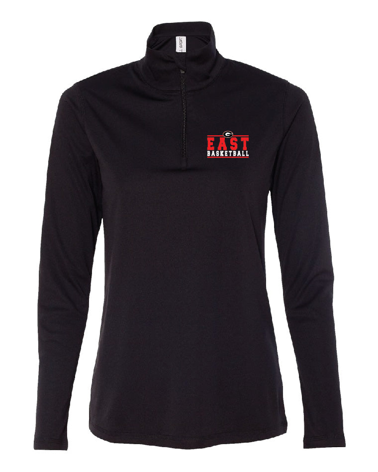 Ladies Basketball Quarter Zip Pullover