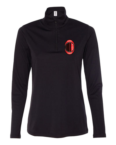 Ladies Soccer Quarter Zip Pull Over