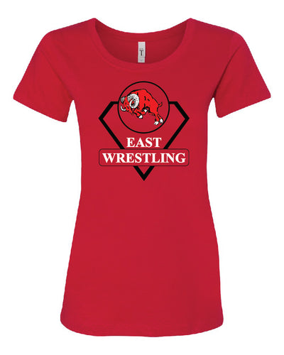 Ladies Wrestling T-Shirt