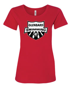 Swimming Ladies T-Shirt