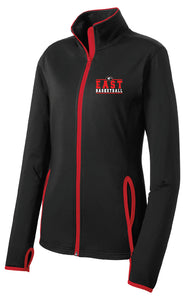Ladies Basketball Stretch Full Zip Jacket