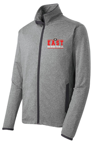 Men's Basketball Stretch Full Zip Jacket