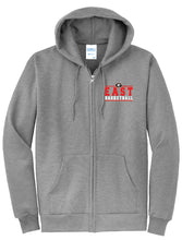 Load image into Gallery viewer, Basketball Zip Up Hoodie
