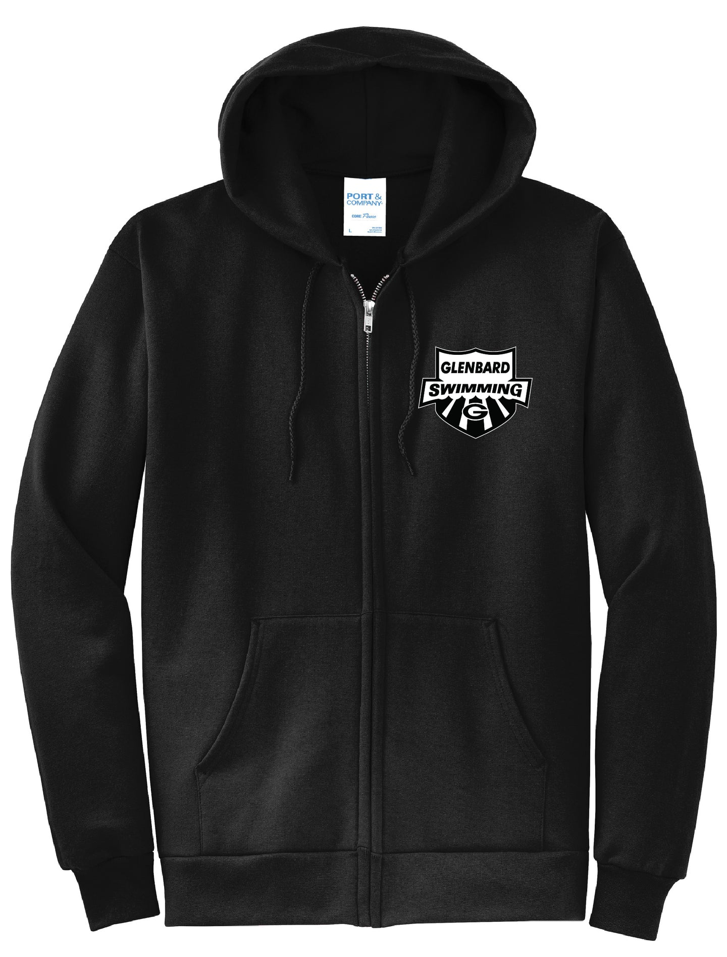 Swimming Zip Up Hoodie
