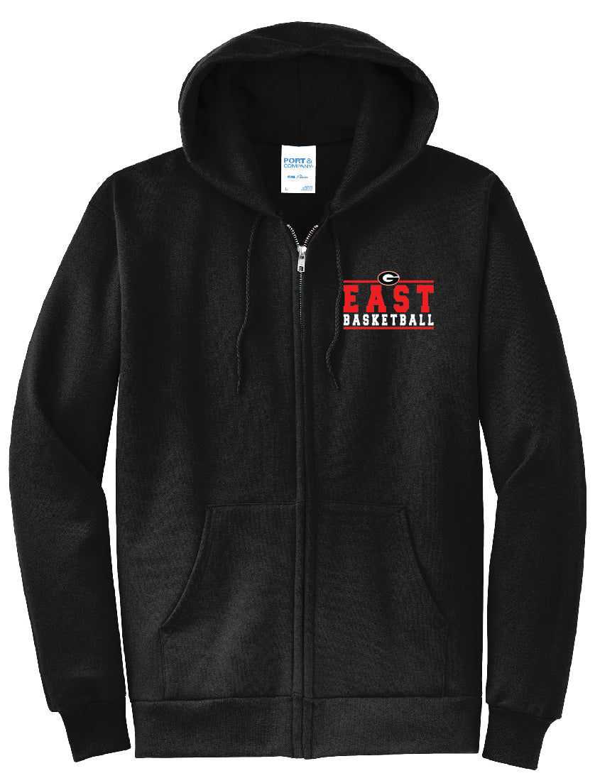 Basketball Zip Up Hoodie