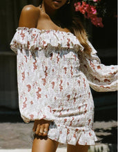 Load image into Gallery viewer, Zanna Off Shoulder Sun Dress