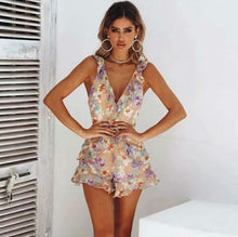 Load image into Gallery viewer, floral printed playsuit