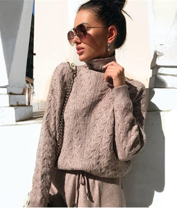 Sydney Knitted Two Piece Tracksuit