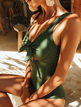 Load image into Gallery viewer, Gigi Olive Swimsuit