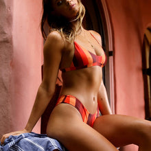 Load image into Gallery viewer, Louisa Red Striped Bikini