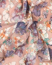 Load image into Gallery viewer, floral printed playsuit material